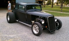 1934 Chevy 5 Window Coupe Hot Rod