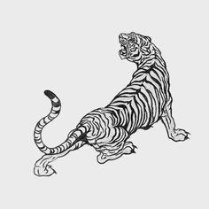 Head Tattoo Jaguar Tattoo, Tiger Tattoo, Mini Tattoos, Body Art Tattoos, Small Tattoos, Tatoos, Tattoo Sketches, Tattoo Drawings, Art Sketches