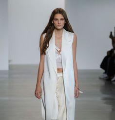 La veste sans manche de Calvin Klein