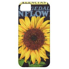 Orangedale Sunflower Vintage Fruit Crate Label Art iPhone 5 Covers  #iphone5 #casemate #iphone5casemate #iphonecasemate #iphone5cover #iphonecover