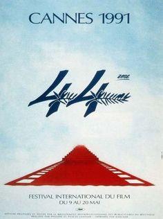 Official Festival de Cannes Poster, 1991