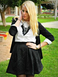 Look de navidad (by Cristina Aznar) | LOOKBOOK.nu