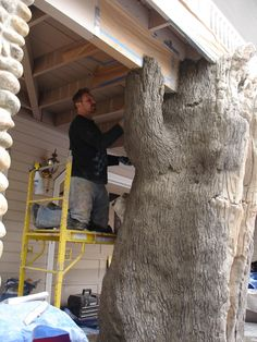 Creating a tree for a residential home.