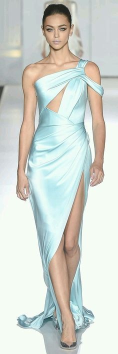 Iceberg satin couture #luxurydotcom
