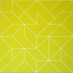 Losange couleur IX, 2008 (Ode Bertrand), Courtesy of Galerie Oniris - Florent Paumelle @ Art Paris Art Fair - 26th > 29th March 2015 - Grand Palais - http://www.artparis.com/fr/artwork/Ez9e72cP