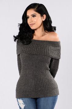 35323ce606e The Blizzard Sweater - Charcoal. Warm OutfitsCool OutfitsFashion Nova ...