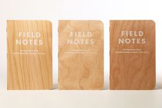 Field Notes Limited Edition Shelterwood Notebook - 3-Pack | MEMOJI