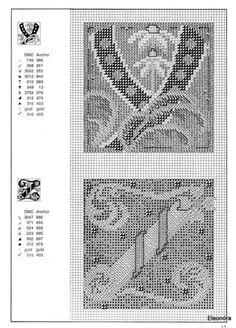 Zweigart Celtic alphabet 15 end