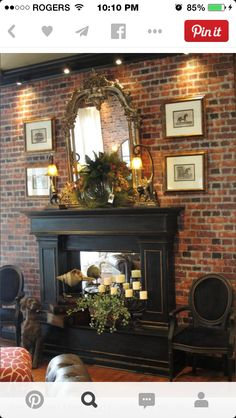 first project mark and i made for the shop a custom fireplace finished with vermont slate and gilding luv this black fireplace