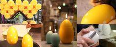 Munakynttilät valmistetaan käsin Vaajakoskella  #pääsiäinen #pääsiäisherkkuja #kynttilä #raikaskevät #pääsiäiskattaus #puttipaja  #pääsiäiskoriste #kotimainenkynttilä
