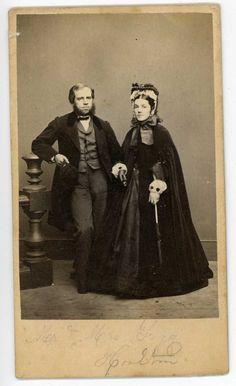 Formal Elegant Boston Couple Circa 1861 | eBay