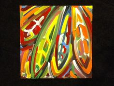 Chicago Blackhawks Painting by Justin Patten by stormstriker, $45.00