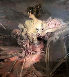 MADAME DE FLORIAN / Giovanni Boldini cool-apartment-abandoned-old-painting