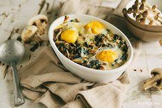 Something Master Chefs Adore: Mushroom-Spinach Baked Eggs - Pepper.ph