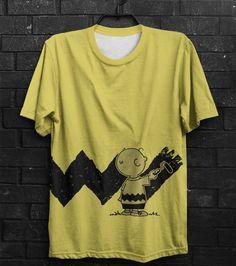 Camiseta Charlie Brown Paint