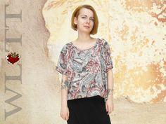 Sweatshirts - Tunika **BESHKA** Top - ein Designerstück von WLTT-Fashiondesign bei DaWanda