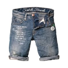 Scotch Shrunk - Shorts/ Snatch/ Dust Bowl - Graffiti inspired summer shorts