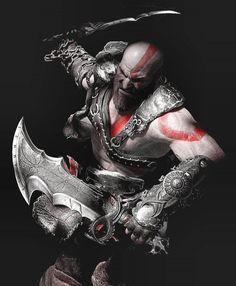 Kratos God Of War, God Of War Series, Roman Warriors, Weapon Concept Art, Gaming Wallpapers, Game Art, Besties, Fantasy Art, Video Game