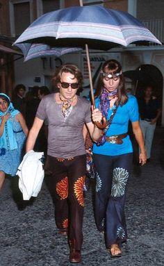 Elsa Martinelli e Willy Rizzo, 1970
