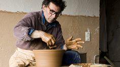 """Throwing Salad Bowls"" by French slipware potter Jean-Nicolas Gérard"