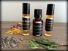 [ 3 for 24.99 - Natural Aromatherapy Set] A great way to try a few of our natural aromatherapeutic synergy oils!