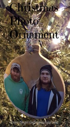 Create a Christmas photo ornament from the pre-made craft ornaments and Mod Podge at your local craft stores. This year I decided to work with those clay prepackaged ornaments at my local Hobby Lobby… Photo Christmas Ornaments, Christmas Ideas, Christmas Crafts, Christmas Bulbs, Christmas Decorations, Holiday Decor, Crafts To Make, Fun Crafts, Spindle Crafts