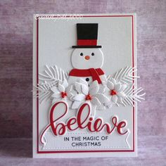Check out the webpage to learn more on Handmade Christmas Cards Die Cut Christmas Cards, Noel Christmas, Handmade Christmas, Holiday Cards, Christmas Paper Crafts, Homemade Christmas Cards, Homemade Cards, Winter Karten, Snowman Cards