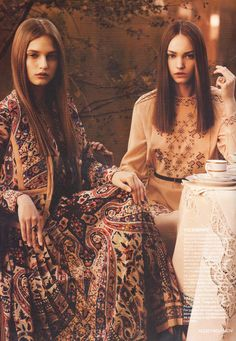 A touch of Russian folk style. Vilshenko (designer)