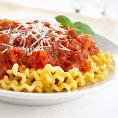 Pinned from www.furmanos.com: Omega-3 Spaghetti Sauce