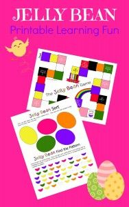 Jelly Bean Games:  Fun worksheets and games to play with your jelly beans!  Turn learning into fun!
