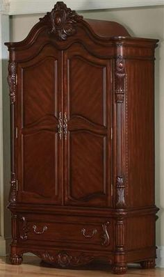 edwardian armoire by pulaski furniture the online furniture store furniture pinterest. Black Bedroom Furniture Sets. Home Design Ideas