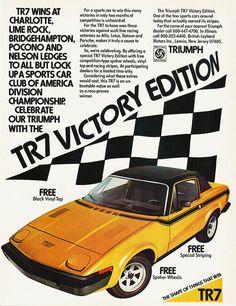Triumph TR7. This was dream car when I was in high school.