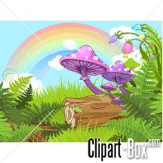 CLIPART FANTASY FOREST