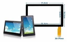 """""""Utilice Touch Tablet 10 Universal Flex C160259a1-drfpc160t-v1.0 de # Movil.cn que le dará una protección adicional a su tableta.""""  #Tabletparts #Pantalla de pantalla"""