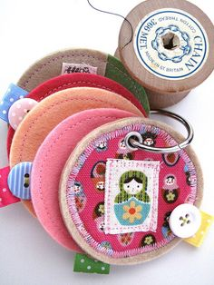 Needle Book, or fun keychains?