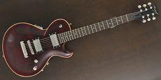 DEAN ZELINSKY / STRETTAVITA CUSTOM Trans Wine Guitar Free Shipping! δ