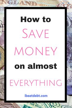 Did you know you can save money on almost all your purchases? Want to know how to save on all your regular purchases and some of the more unusual ones. It takes almost no time and the savings soon add up! Click through for my top tips! Save Money On Groceries, Ways To Save Money, Make More Money, Money Tips, Money Saving Tips, Extra Money, Money Savers, Frugal Living Tips, Frugal Tips