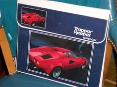 I loved Trapper Keepers AND I loved Lamborghinis. Never owned the latter...