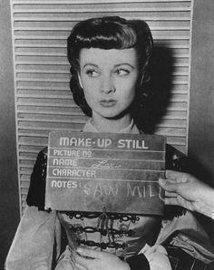 Make up Hair Dress tests - Vivian Leigh