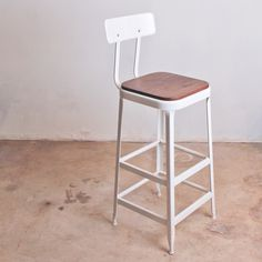 Lyon Bar Stool Hardwood Seat