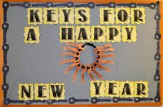 New Year Keys Bulletin Board and More!