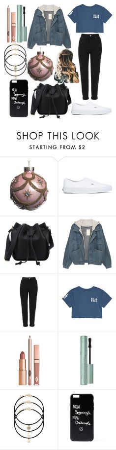 """Untitled #45"" by sofi-the-first1912 on Polyvore featuring Vans, Topshop, Billabong, Dolce Vita and Too Faced Cosmetics"