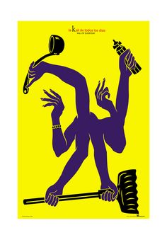 "Osvaldo Gaona. Kali. ""Latin american Posters"". Bienal del Cartel Bolivia BICeBé® 2013"
