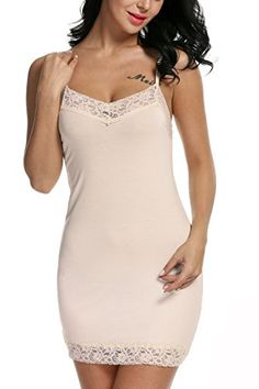 ec0de0418 Avidlove Women's Chemise Nightgown Sleepwear Lace Lounge Dress Spin Slip  #clothing #fashion #tshirts