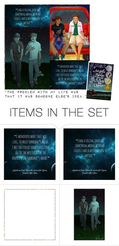 """Aristotle and Dante Discover the Secrets of the Universe Quotes"" by hangar-knjiga ❤ liked on Polyvore featuring art, book and books"