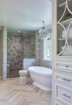 88 Modern Rustic Farmhouse Style Master Bathroom Ideas - 88homedecor