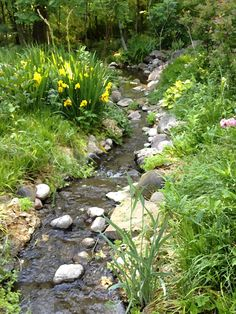 Tips, tricks, also quick guide for acquiring the very best outcome as well as making the optimum utilization of Backyard Landscaping Plans Backyard Stream, Garden Stream, Ponds Backyard, Garden Water, Water Gardens, Cottage Garden Design, Cottage Garden Plants, Pond Waterfall, Pond Landscaping