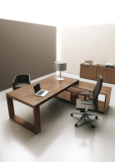 "DIPLOMAT #executive #office #officefurniture ""DIPLOMAT"" sobriety and distinction as synonyms of elegance, luxury without excess, clean lines with essential design. A custom-made space, enhanced by warm materials and cool touches provided by metal."