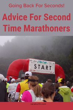 You've finished your first marathon (congrats!)! Great ready for marathon #2 with this advice on my blog.