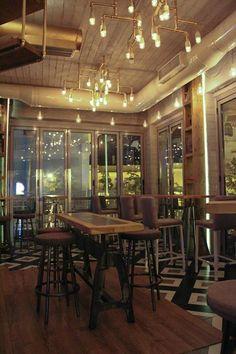 #interior #design #EpilisisStudio #bar #cafe #industrial